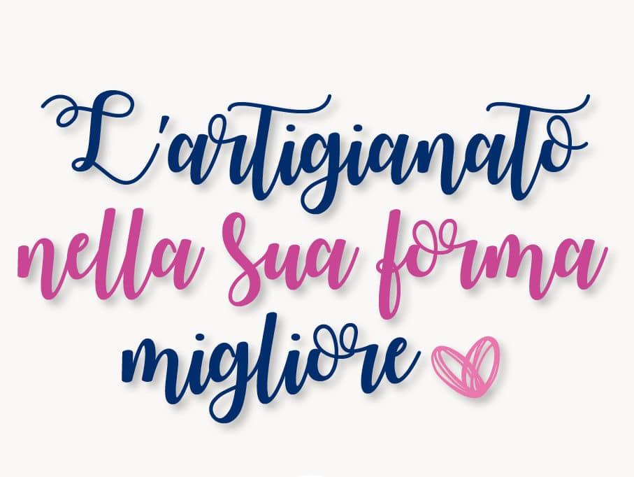 Artigianato femminile CNA Biella espone in via Italia 70
