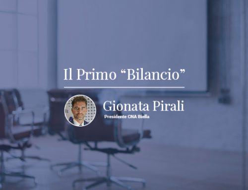 Il bilancio del primo anno di Gionata Pirali, Presidente di CNA Biella