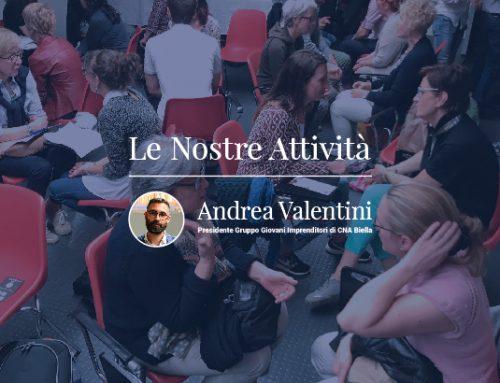 Il primo anno del Gruppo Giovani Imprenditori, guidati da Andrea Valentini