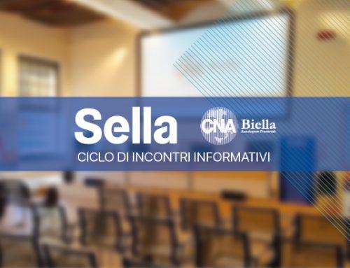 CNA Biella e Banca Sella per le imprese: un ciclo di incontri informativi