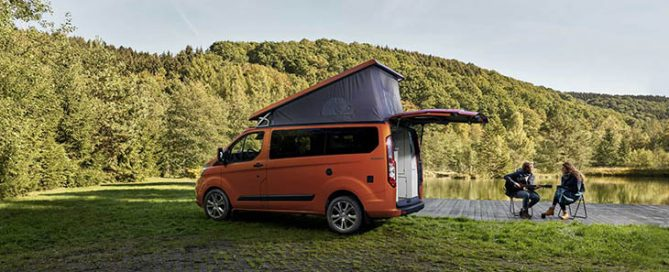 Nuovo Transit Custom Nugget Camper
