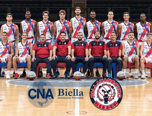 CNA Biella rinnova la sponsorship a Pallacanestro Biella per il 2020